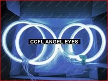 set 125mm-105mm CCFL Angel Eyes Halo Ring Light cathode tube fits TO.YO.TA corolla(2001-2004) GGG FREESHIPPING - LED KALAWA's store