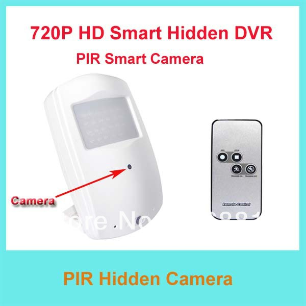 Free Shipping 720P HD PIR Smart Camera/Security Camera/Motion Activate Video Recorder Camera With Remote controller/Night Vision(China (Mainland))