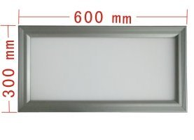led panel light;350pcs 3528 led;size:600mm*300mm;21W