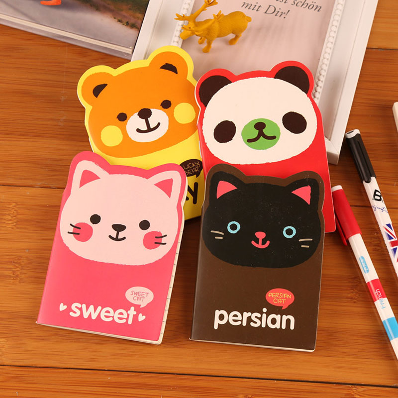 Cute Hardcover Notebook Kawaii Diary Notepad planner journal record Winnie big ears Cover office stationery School supplies<br><br>Aliexpress