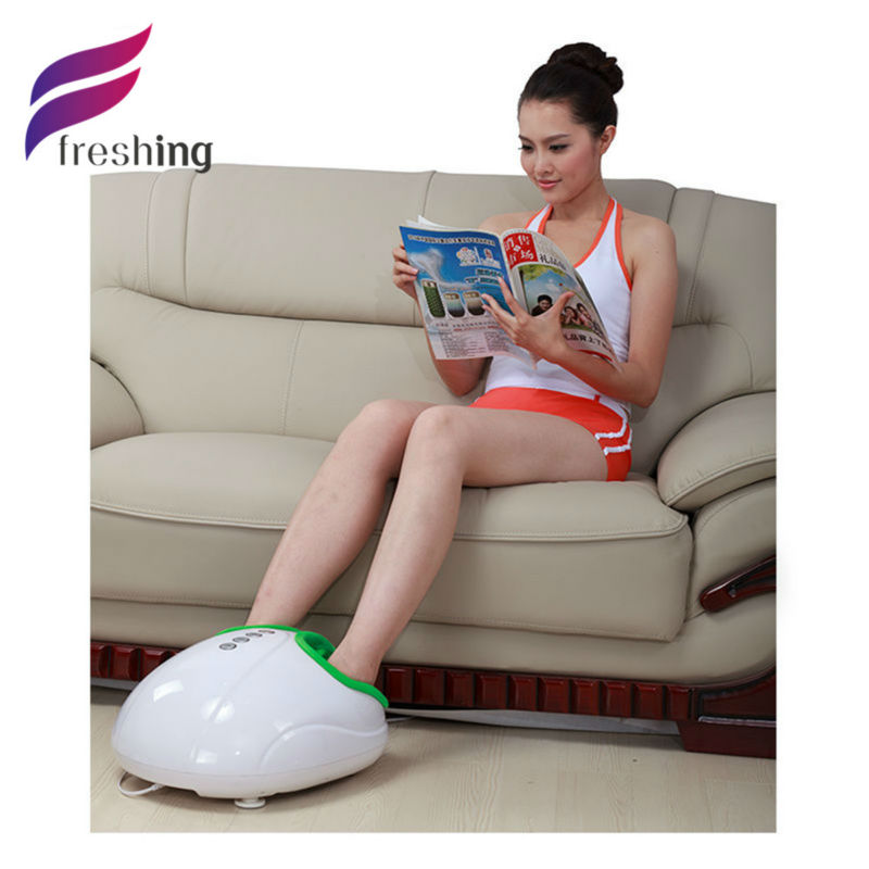 FRESHING Electric Foot Massager Egg Shape Foot Massage Machine for Health Care,Personal Comfy Kneading Shiatsu Foot Spa Masseuse(China (Mainland))