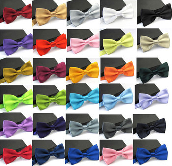 2016 Ties for Men Fashion Tuxedo Classic Mixed Solid Color Butterfly Wedding Party Bowtie Bow Tie