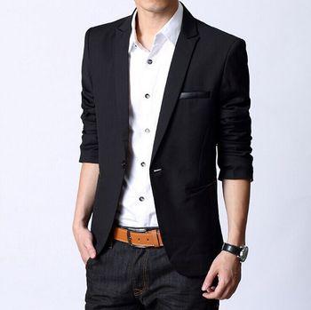 Весна 2015 нью-европейских дизайнер мужчины мужская мода бренд класса люкс джентльмен ...