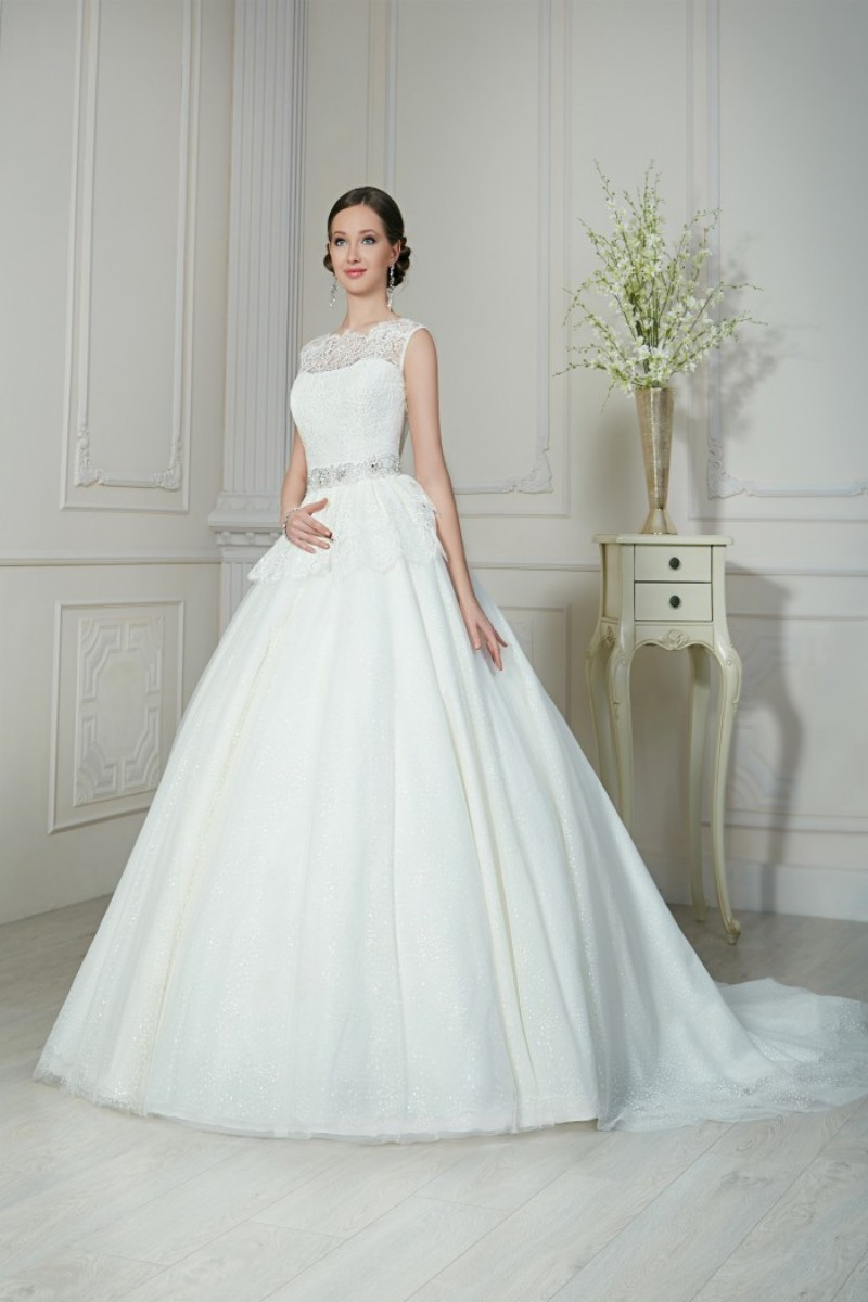 Buy sparkle charming ball gown white for White sparkly wedding dress