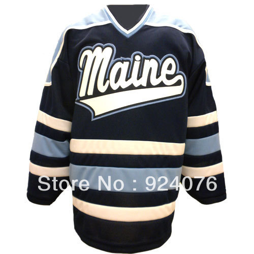 Custom N C A A University Maine Black Bears K1 Home Hockey Jersey - Customized Any Number, Any Name Sewn On (S-6XL)<br><br>Aliexpress
