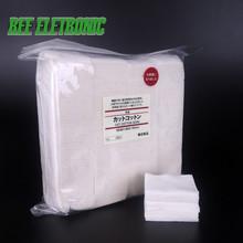 10pcs/bag Japanese Organic Cotton For RDA RBA Atomizer Coil Wick No Bleach Healthy Electronic Cigarette Cotton Huge Vapor