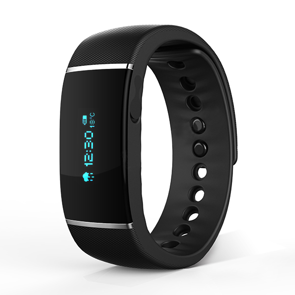 The new waterproof smart Bracelet personal fitness coach with Bluetooth phone Intelligent wearable watches long standby time(China (Mainland))