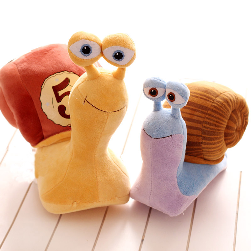 Hyperspeed cartoon snail doll automobile race small snail plush toy doll child doll birthday gift(China (Mainland))