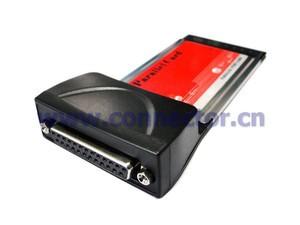 EP-010 54mm Laptop PCMCIA to DB25 DB26 Printer Parallel Interface CardBus Adapter(China (Mainland))