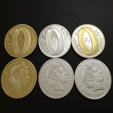 3 pcs/lot New Zealand The Lord of the Rings & Elizabeth II Gold Silver 2003 Coins free shipping coins Russia Britain(China (Mainland))