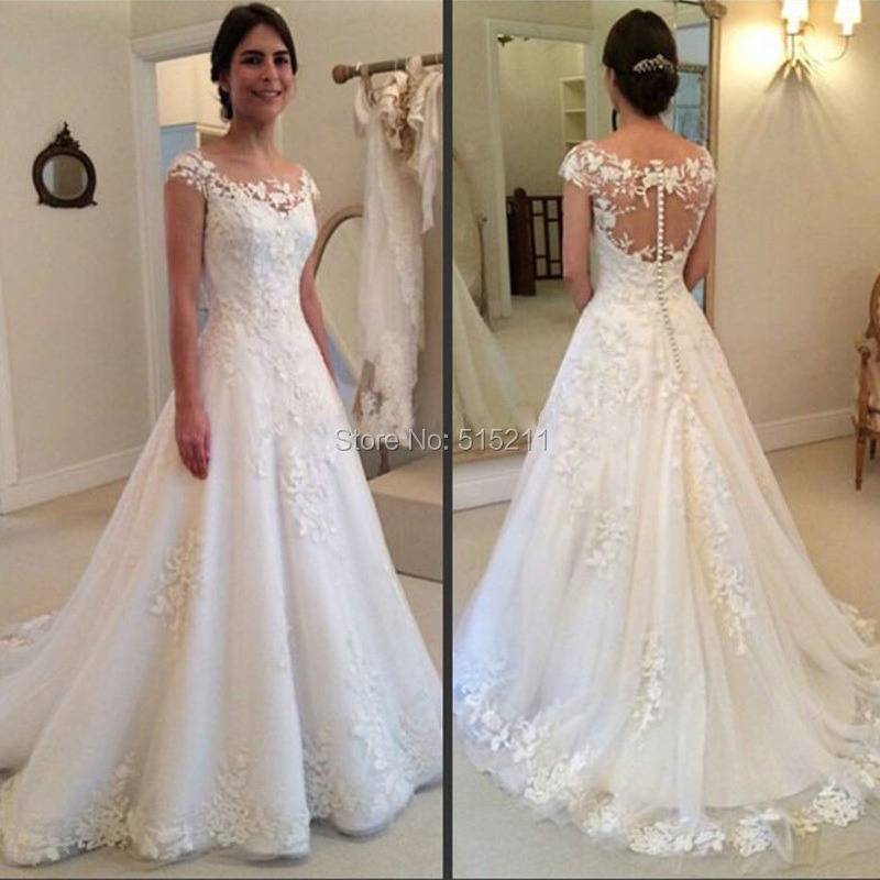 Best selling scoop neck robe de mariage vestido de noiva for Best selling wedding dresses