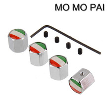 Buy Theftproof Stainless Steel 4PCS Car Wheel Tire Valves Stem Air ITALY FLAG fit BMW AUDI FORD VW NISSAN for $2.59 in AliExpress store