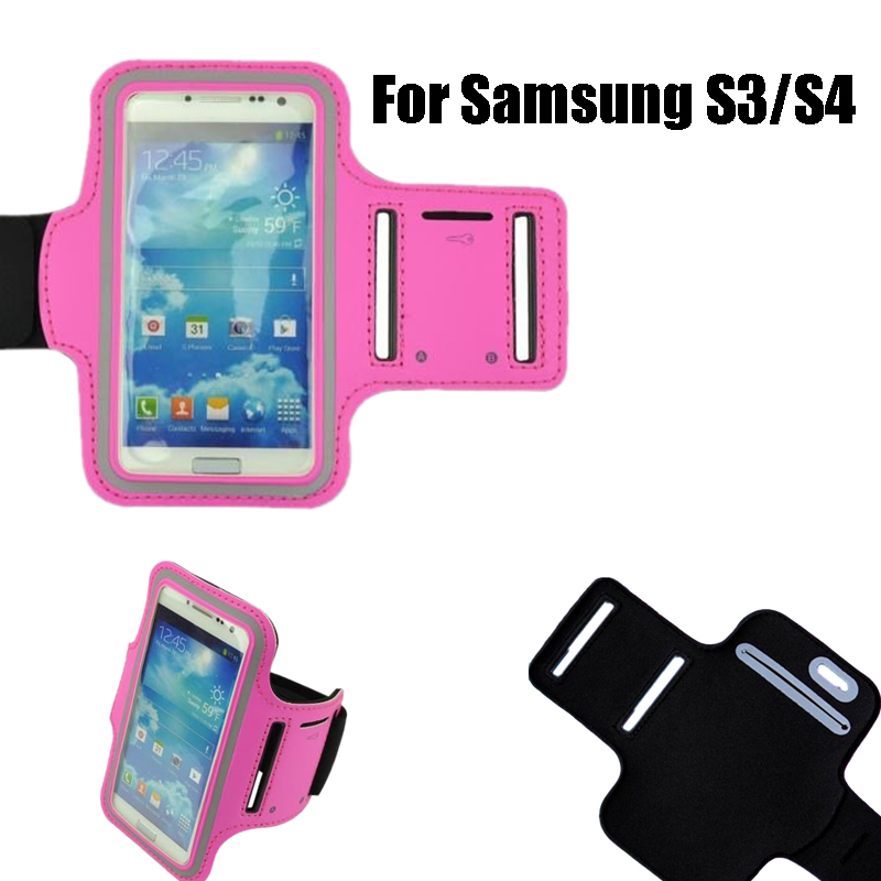 Sport Arm Band Case For Samsung Galaxy S3 S4 Arm Phone Bag Brazalete Deportivo Brassard Gym Pouch Cover(China (Mainland))