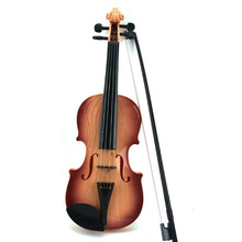 Adjust String Simulation Violin Musical Can Play Toy For Kids Educational Creative Gift Toys(China (Mainland))