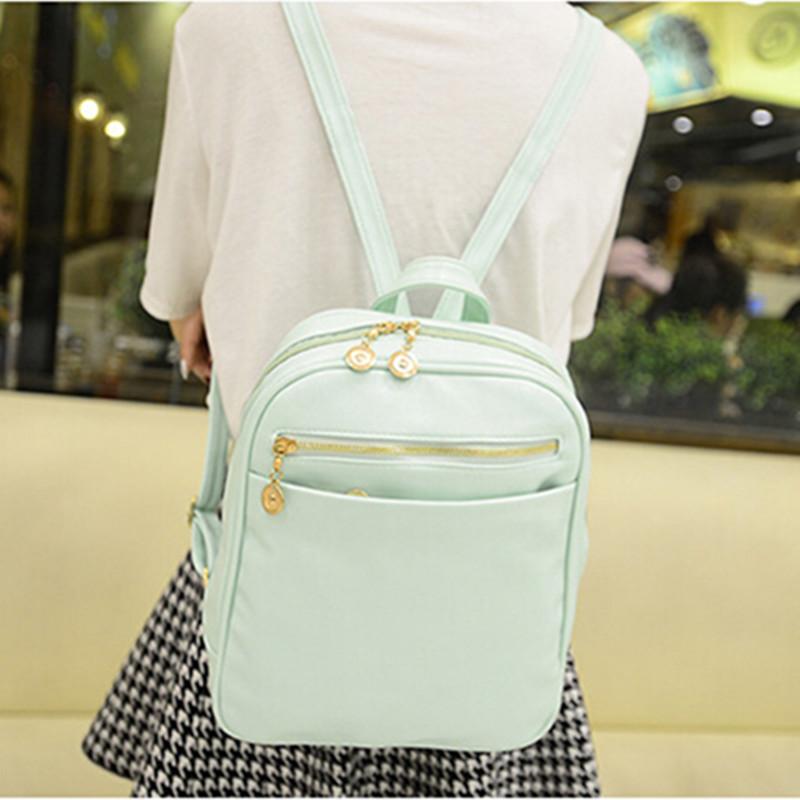 Fashion Women Backpack Bag 2015 PU Leather Women Backpack Designers Brand for Teenage Girl (BB02-15)(China (Mainland))