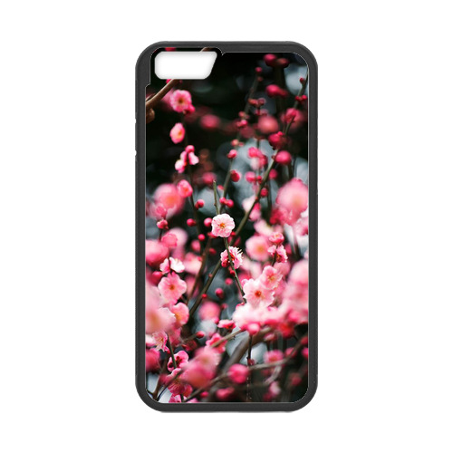 Waterproof Phone Case Plum Blossom Case for iPhone 6(China (Mainland))