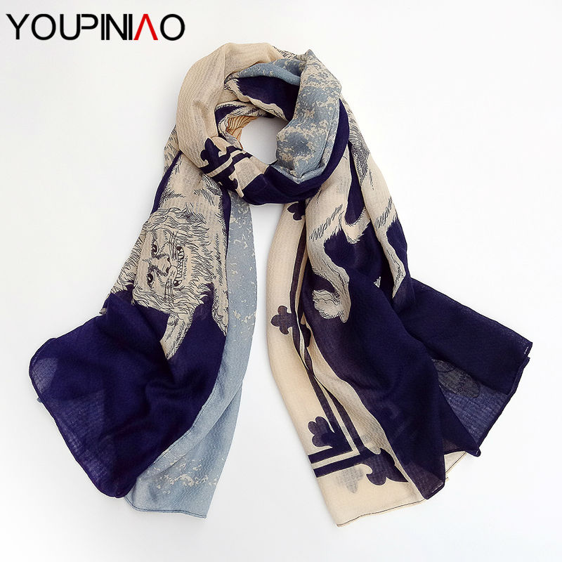 2016 Brand scarf Women Vintage Design Scarves Fashion Shawls and Hijabs Ladies Oversized(China (Mainland))