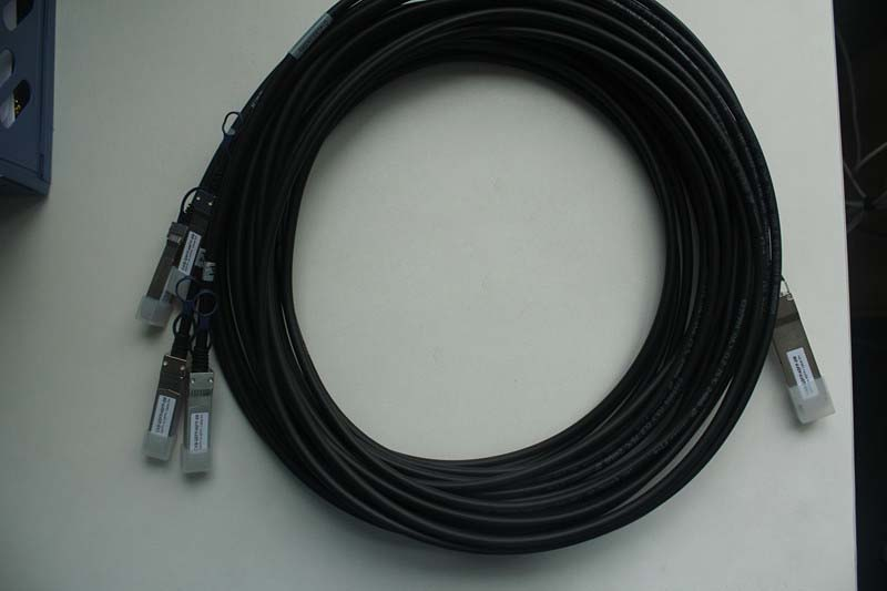 for QSFP-4SFPG-CU10M QSFP-4SFP used 10M  40G Cable SAS Divided into four <br><br>Aliexpress