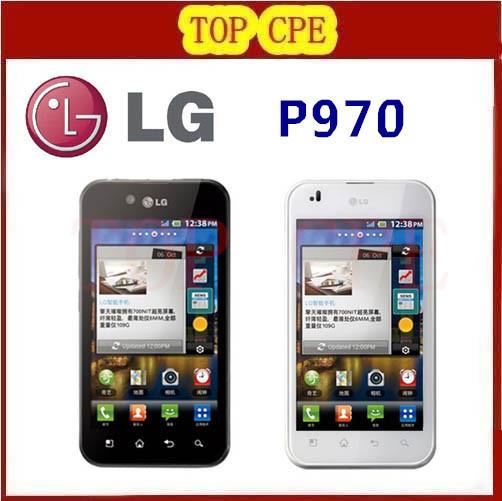 Оригинальный LG Optimus P970 сотовый телефон wi-fi bluetooth GPS gsm 3 г android-автомобильный смарт-мобильный телефон восстановленное
