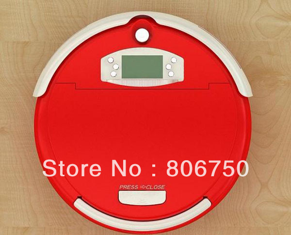 Free Shipping 2013 Good Quality Vacuum Cleaner Robot With Wet and Dry Mop Function and Virtual Wall(China (Mainland))