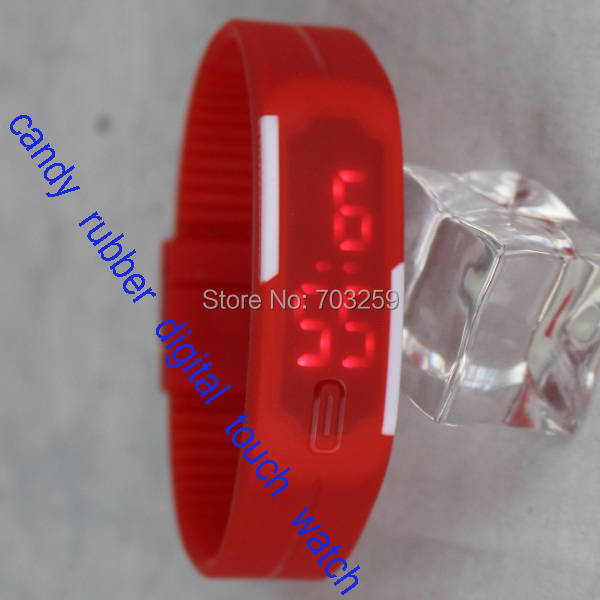candy colours silicone rubber digital touch watch led sport screen watches - Egen Promotions Co., Ltd.. store