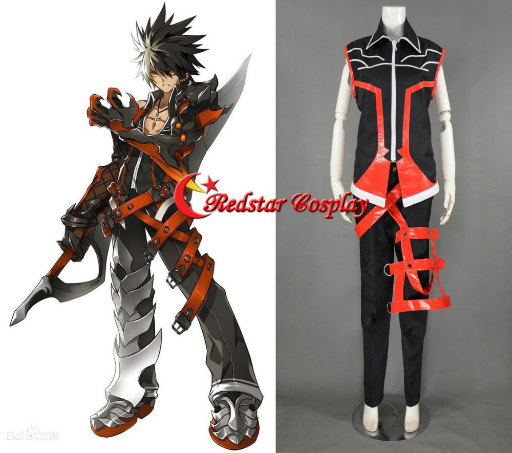 Raven Cosplay Costume from Game ELSWORDОдежда и ак�е��уары<br><br><br>Aliexpress