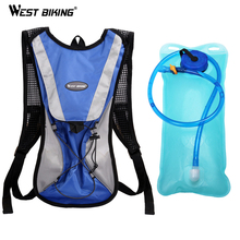 Buy WEST BIKING 2 L Portable Water Bag Cycling Backpack Wide Mouth Hydration Water Bladder Bag Bike Sports Cycling Bicycle Bag for $15.52 in AliExpress store