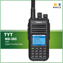 TYT Tytera MD380 Ham 5W VHF 136-174 MHZ Handheld Two Way Radio with Cable and Software