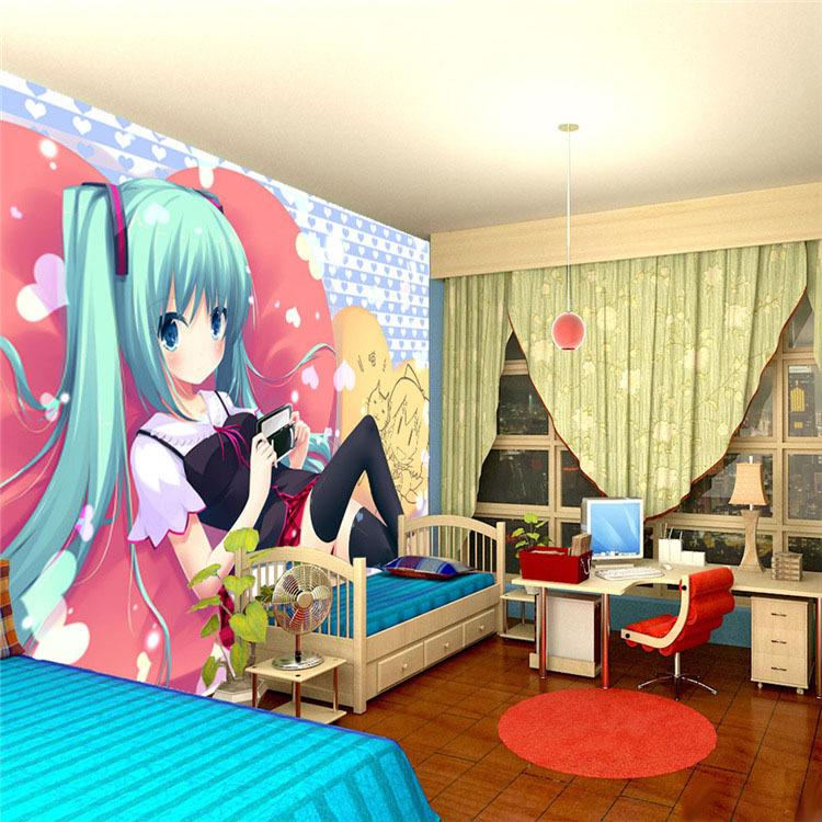 Compra fondos de pantalla de dibujos animados japoneses for Anime themed bedroom ideas