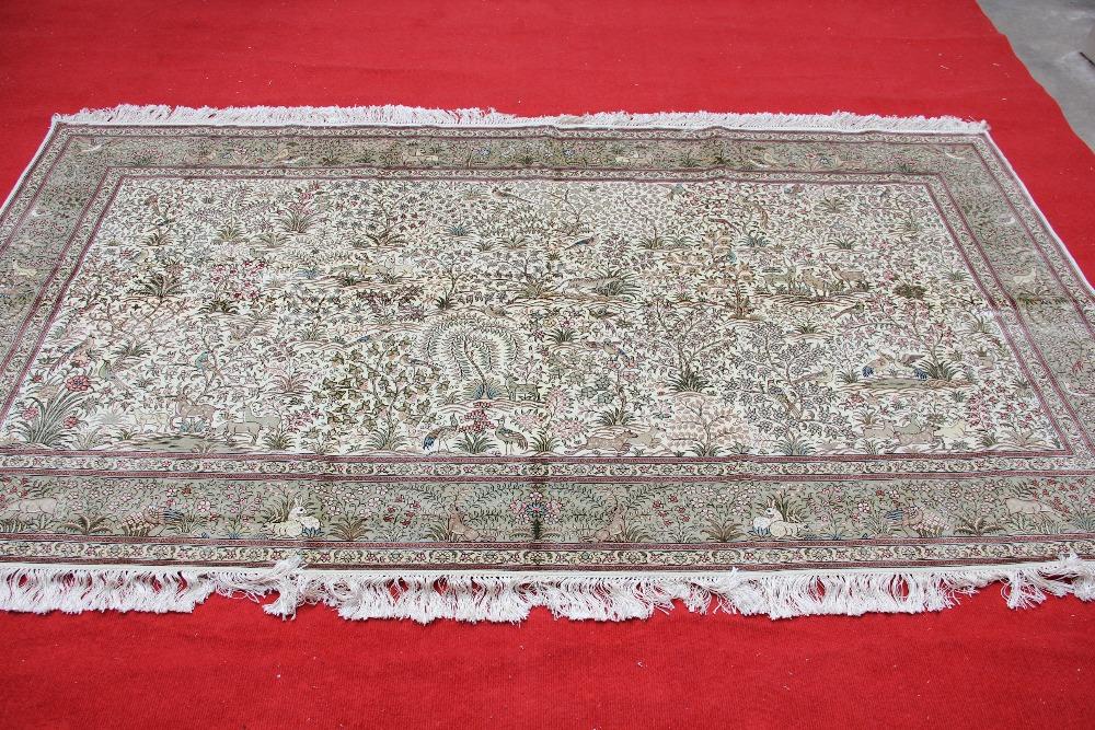 Colorful tabriz area rug for living room handmade carpet for Home decorators rug sale