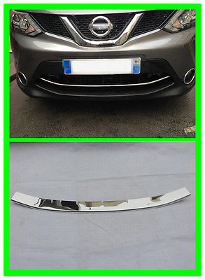 Nissan Qashqai 2014 2015 Front Bottom bumper protecter Grill Grille trim - SUV Decoration store