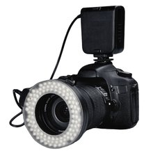 Buy HC-122 Macro LED Ring Flash Light Canon Digital EOS Rebel DSLR 100D 700D 650D 1100D 600D 500D 550D 450D 1000D 400D 350D for $39.99 in AliExpress store