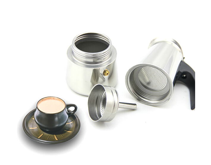 Coffee Maker Without Pot : Aliexpress.com : Buy Portable Stainless Steel Moka Latte Espresso Coffee Maker Pot Percolator ...