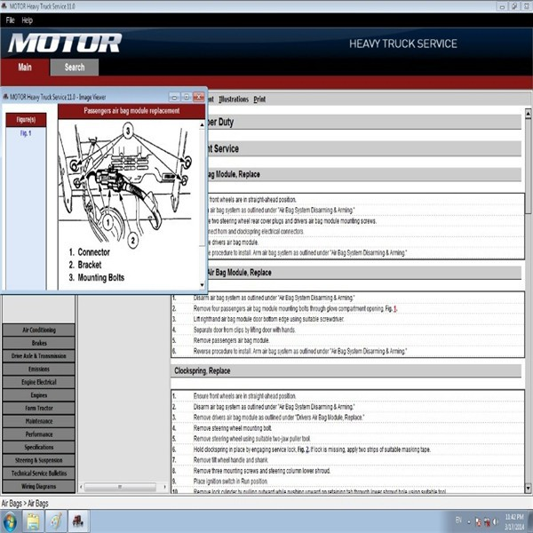MOTO heavy truck service manuals 2011 + KEYGEN similar as mitchell heavy truck(China (Mainland))