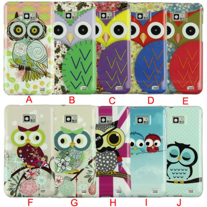 Delicate 2015 New Design Of Silicone Soft Case Cover for Samsung Galaxy S2 SII S II i9100 nice(China (Mainland))