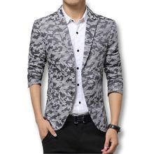 2016 Brand Clothing Suit Jacket Men's Fashion Suits Fashion Designed Pattern Business Suit Business Dress Suit Blazer Plus 3XL