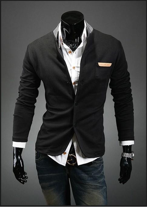 Blazer Coat Mens Mens Fitted Blazers Single