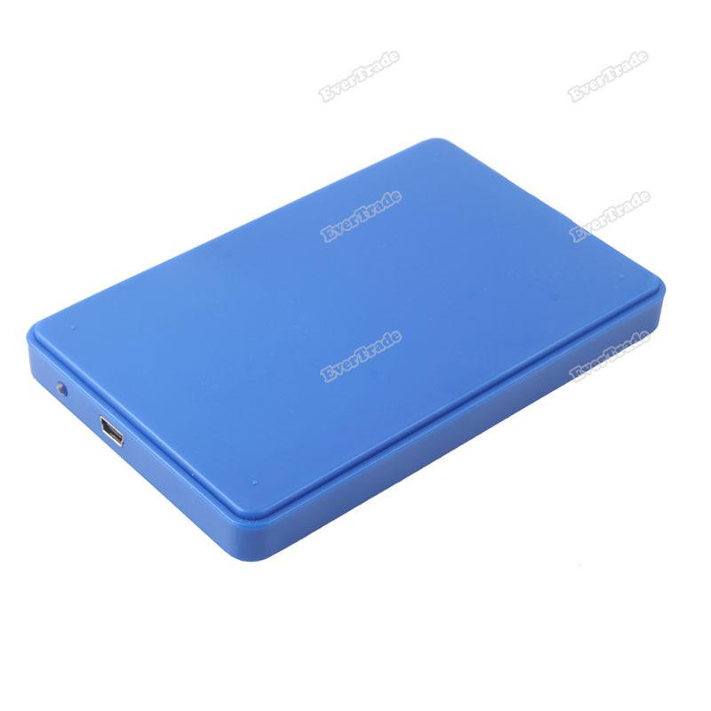 evertrade Ultra Slim USB2.0 2.5 SATA Hard Disk Driver HDD External Box Case Enclosure #18 wholesale(China (Mainland))