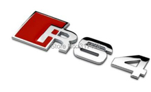20 pieces/lot RS4 emblem badges for Audi A4 L