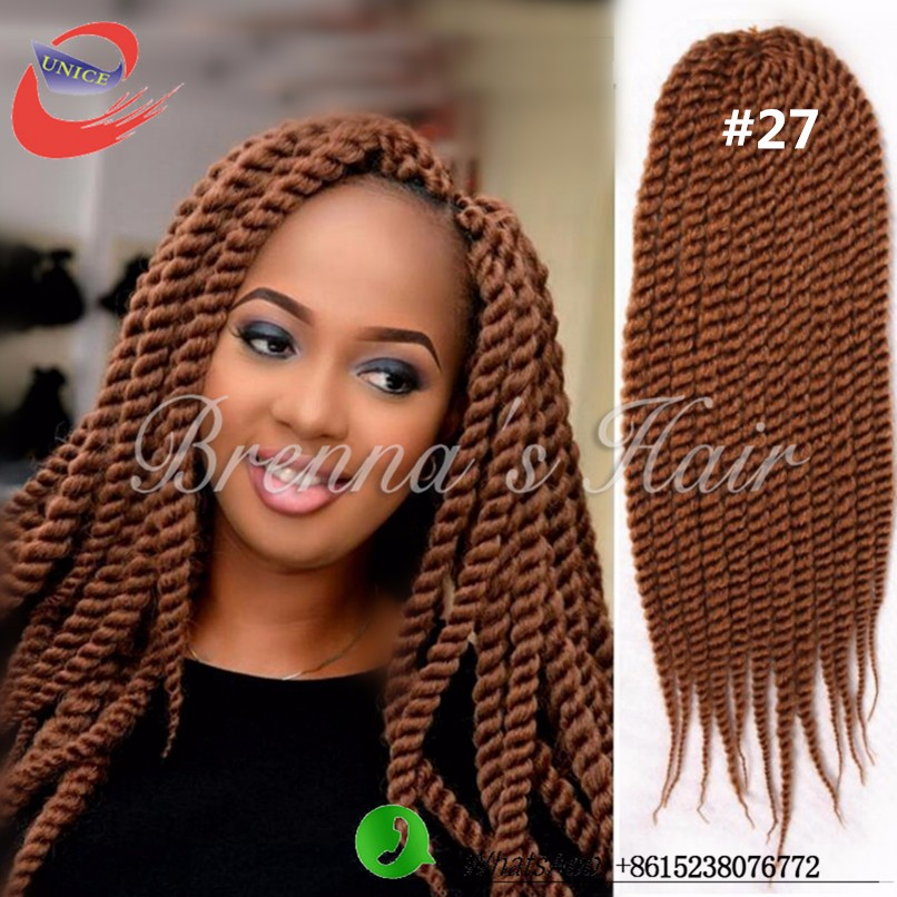 "New Arrival Human Braiding Hair Bulk 12"" 18"" 24""  Crochet Braid Hair,Havana Hair,Kanekalon Synthetic Hair Braids Extensions"