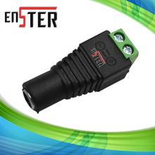 Мужской штекер постоянного тока для видеонаблюдения connetor, 2.1 мм штекер постоянного тока к клеммной колодке, поставляется в небольшой размер для плотно пространства