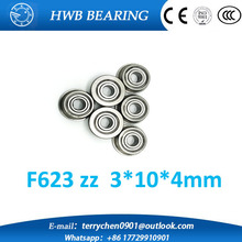 Buy 10pcs F623ZZ 3d printer F623 ZZ flange bushing ball bearings 3x10x4 mm flange bushing ball bearings for 3d printer for $4.45 in AliExpress store