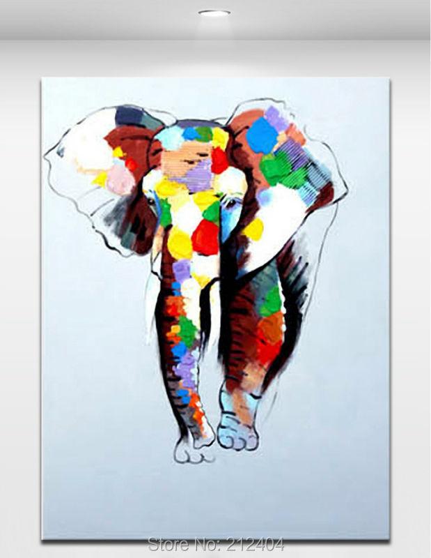 Colorful Elephant Paintings Colorful Elephants
