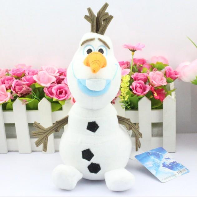 Free Shipping   23CM  Cartoon   Olaf Plush Olaf plush Toys  figures(China (Mainland))