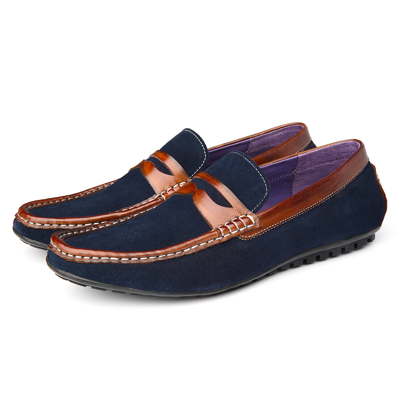 top quality genuine leather shoes summer