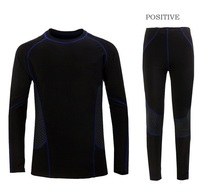 Free Shipping.homme warm,sports men's outdoor sets,men Brand Thermal underwear,gym compression clothing,jogger basketball suits(China (Mainland))