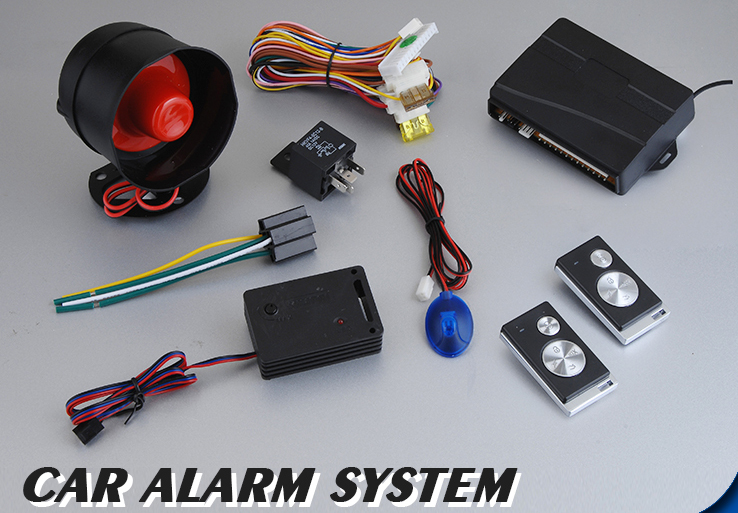 PKE Keyless Entry Remote Control Car Alarm System Remote Arm Central Door Lock Automatic with Shock Sensor(China (Mainland))