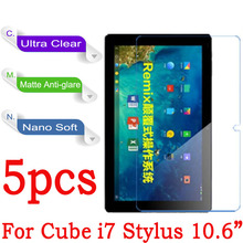 For CUBE i7 Clear Glossy Matte Soft Nano Anti-Explosion 10.6