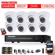 Buy 8CHCCTV System 960P DVR 8PCS 1.3 MP IR Indoor AHD CCTV Camera Security System Surveillance Kit 1TB HDD White camera hdmi 1080p for $293.99 in AliExpress store