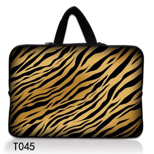 """Tiger Stripes 15"""" Laptop Carry Sleeve Case Bag For 15.5"""" 15.6"""" Sony Acer HP Dell Samsung Asus(China (Mainland))"""